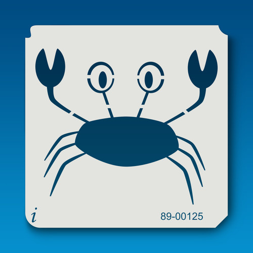 89-00125 Cartoon Crab