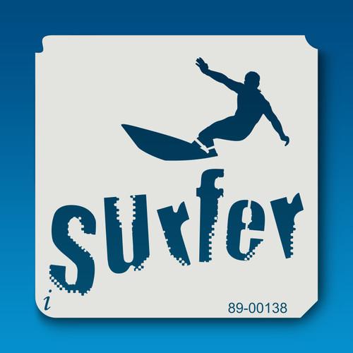 89-00138 Surfer Stencil