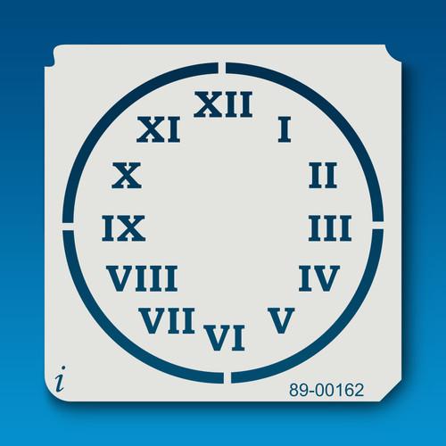 89-00162 Clock Stenciling