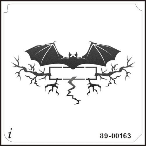 89-00163 Bat Banner