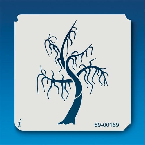 89-00169 Scary Tree Stencil