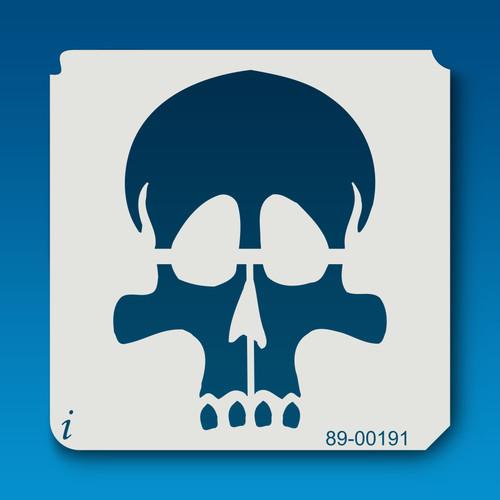 89-00181 skull stencil