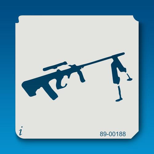89-00188 Sniper Rifle Stencil