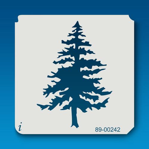 89-00242 Tall Pine Tree Stencil