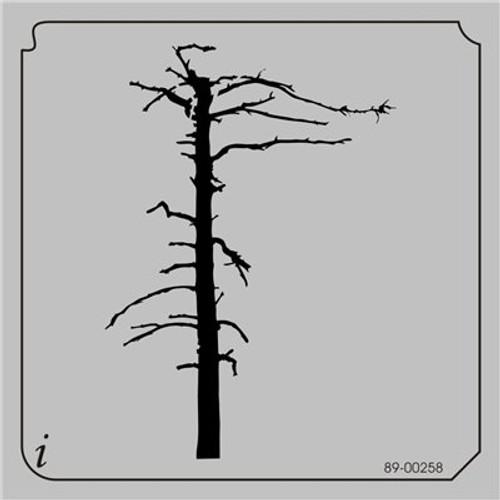 89-00258 Dead Tree Stencil