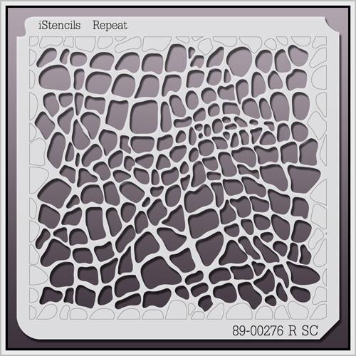 89-00276 R SC Crocodile Print Stencil