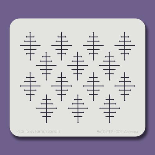 8X10 PTP-002 Antenna Stencil