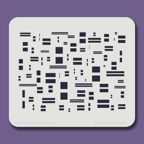 8x10 PTP-070 equals stencil