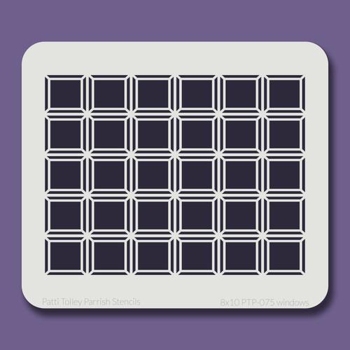 8x10 PTP-075 windows stencil
