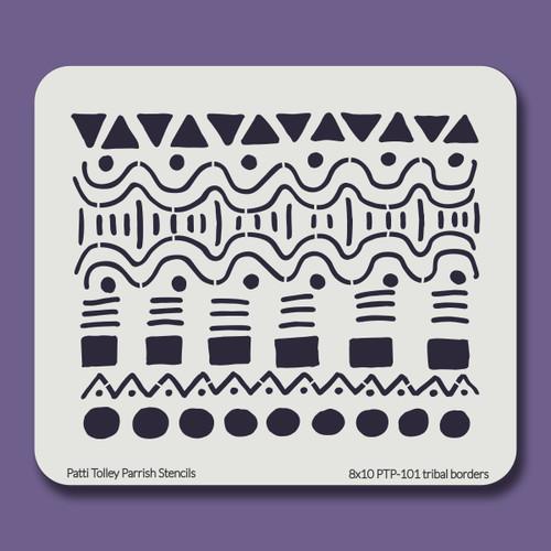 8X10 PTP-101 tribal borders