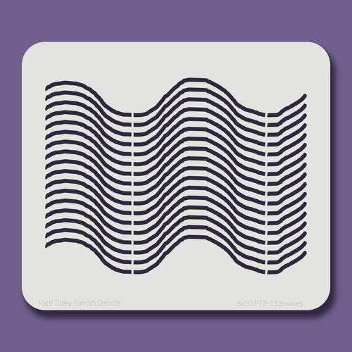 8x10 PTP-113 waves