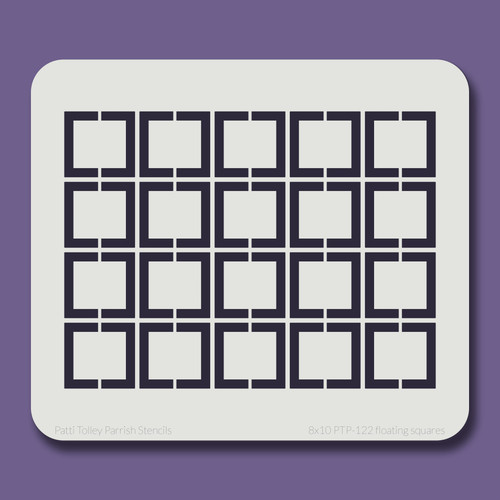 8x10 PTP-122 floating squares