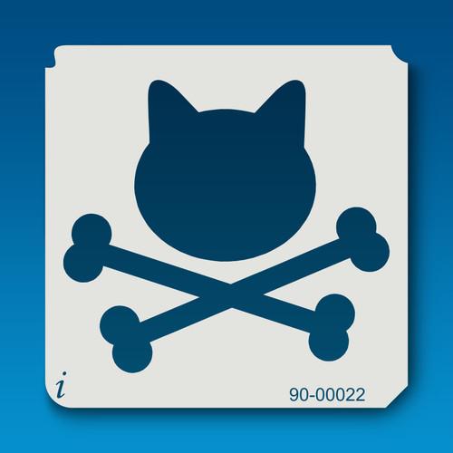 90-00022 Kitty Crossbones