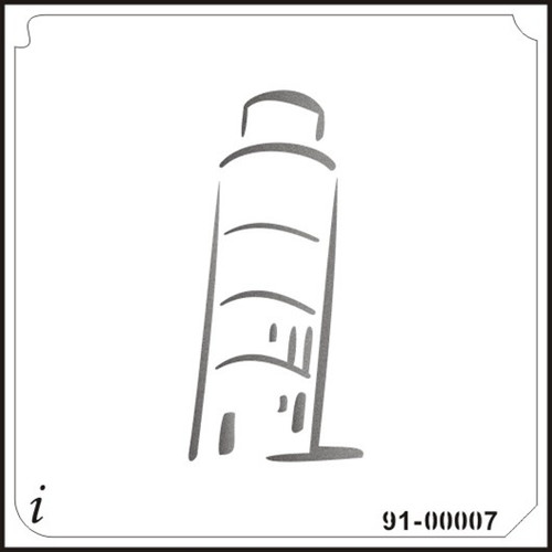 91-00007 Leaning Tower