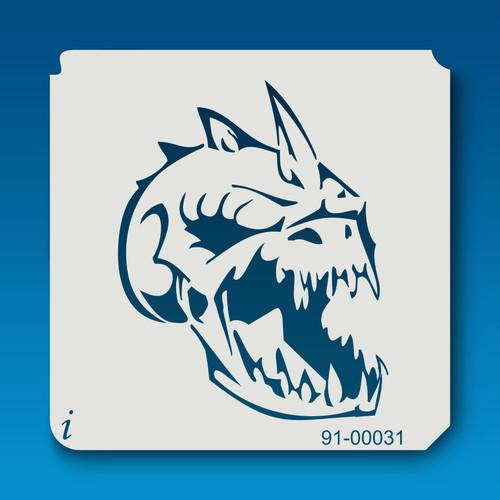 91-00031 Dragon Skull
