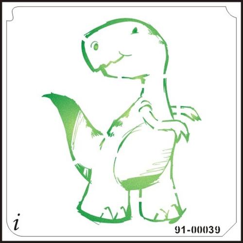91-00039 Little T-Rex Cartoon