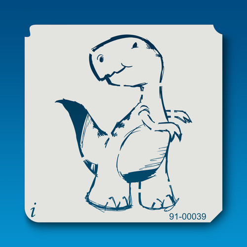91-00039 Little T-Rex Cartoon