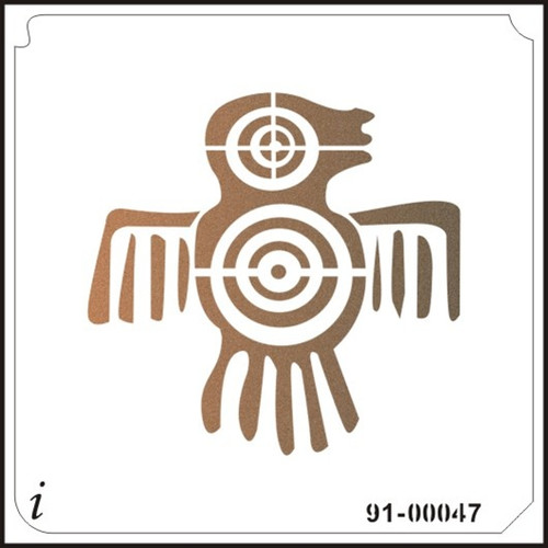 91-00047 Native American Bird
