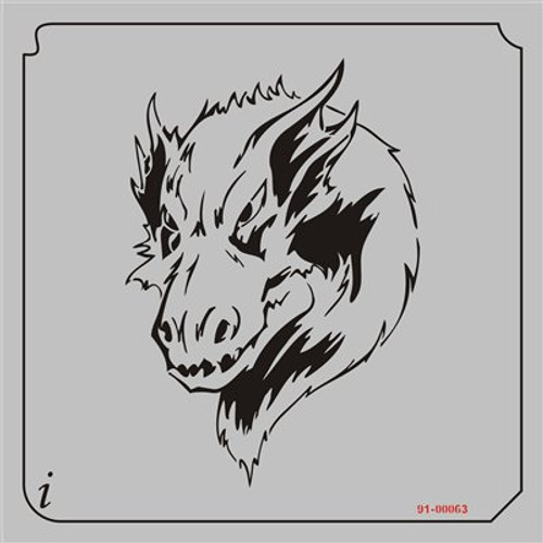 91-00063 Furry Dragon