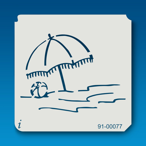 91-00077 Beach Umbrella Stencil