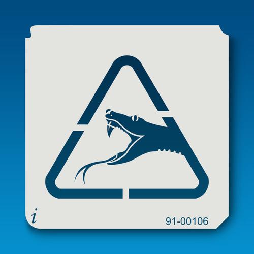 91-00106 Venomous Snake Sign