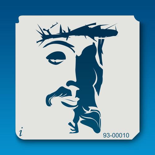 93-00010 Graffiti Jesus Stencil