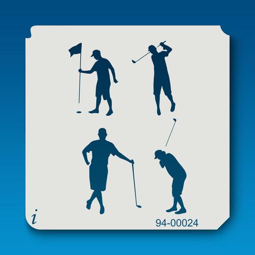 94-00024 Golf Paint Stencil