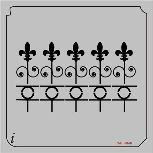 94-00046 Fleur de Lis Fence