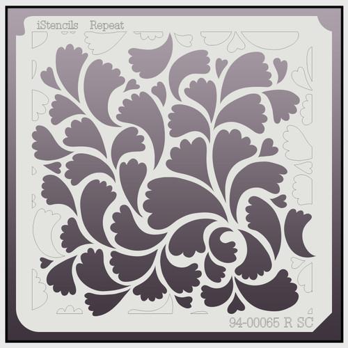 94-00065 R SC Floral Swirls