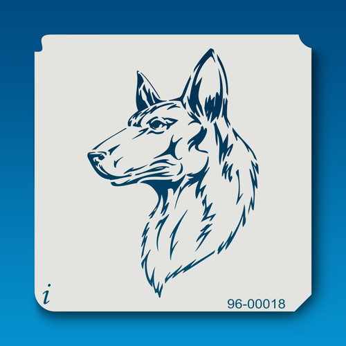 96-00018 Shepherd Dog Pet Stencil
