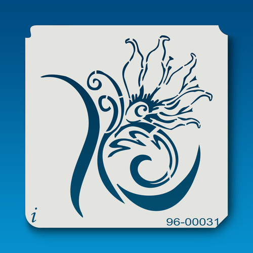 96-00031 Royal Flower Stencil