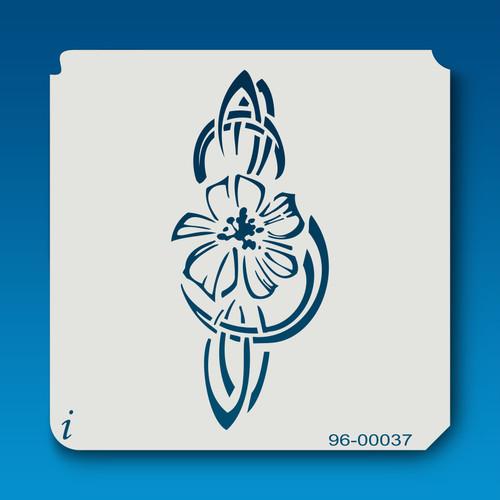 96-00037 Flower Clef Stencil