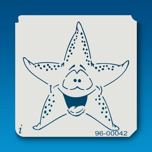96-00042 Cartoon Starfish Stencil
