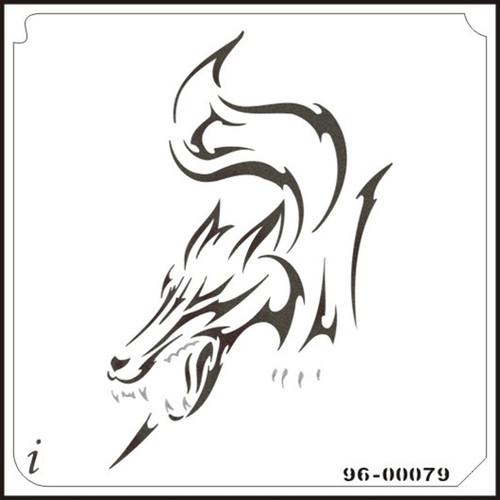 96-00079 Prowling Wolf