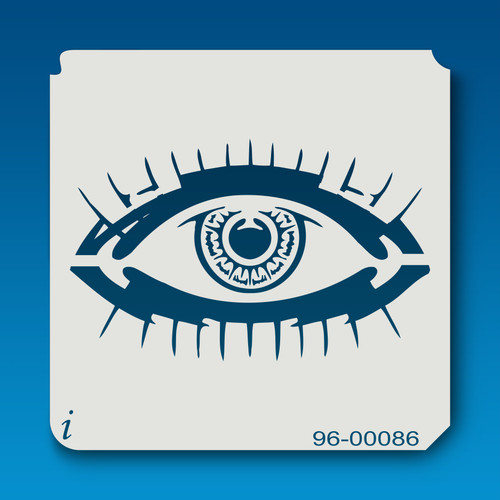 96-00086 Giant Eye Graffiti Stencil