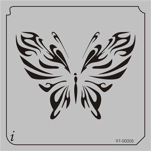 97-00005 Butterflies6 Stencil