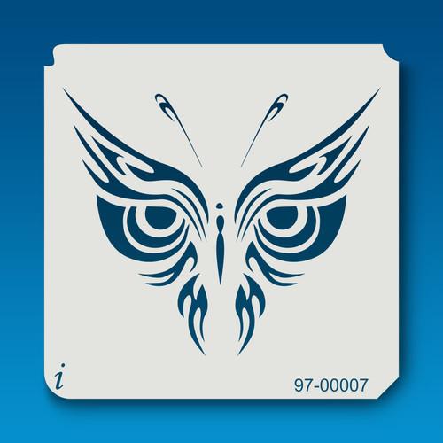 97-00007 Butterflies5 Stencil