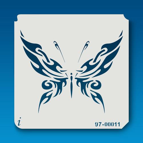 97-00011 Butterflies4 Stencil
