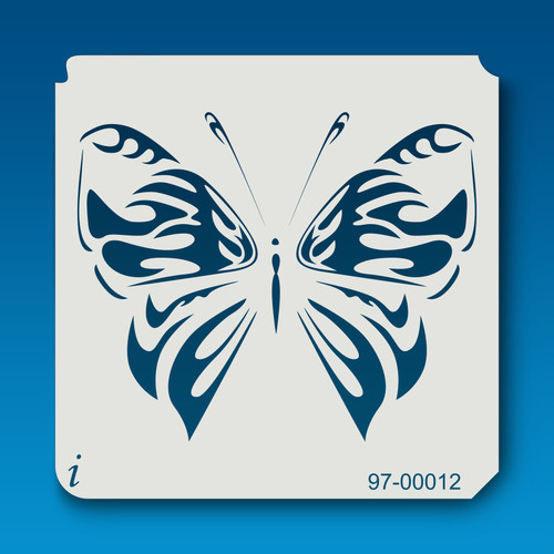 97-00012 butterfly stencil