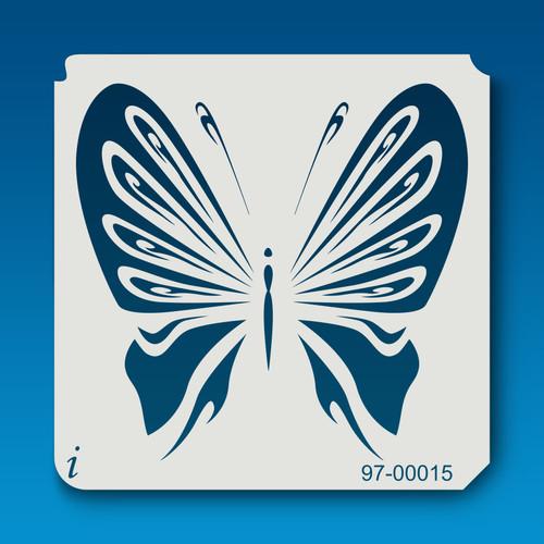 97-00015 Butterflies3 Stencil