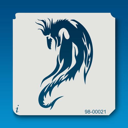 98-00021 dragon stencil