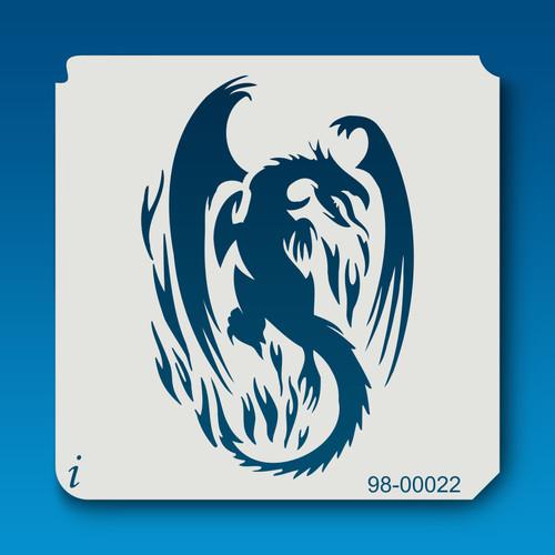 98-00022 Flaming Dragon