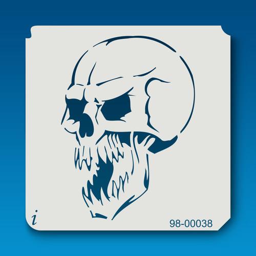 98-00038 Spooky Skull Stencil