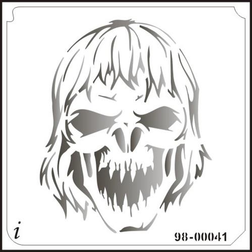 98-00041 Howling Zombie Stencil