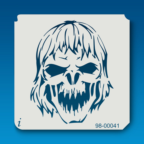 98-00041 Howling Zombie Stencil
