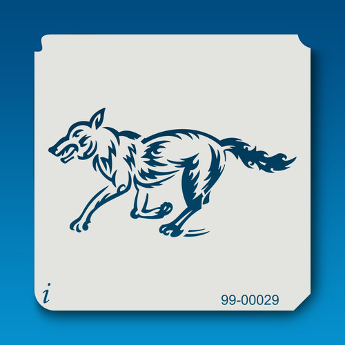 99-00029 Running Wolf