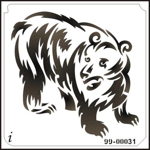 99-00031 Furry Bear