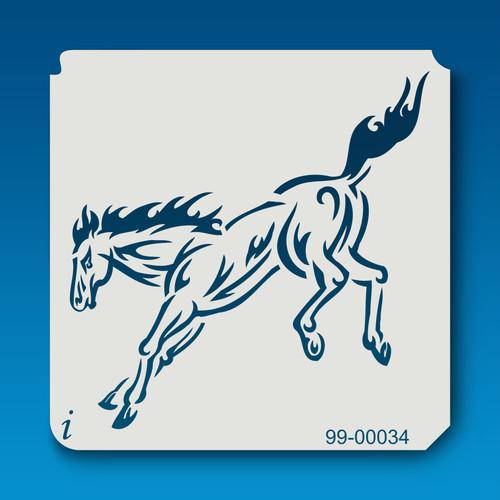 99-00034 Kicking Horse Stencil
