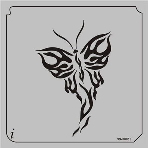 99-00039 Butterflies2 Stencil