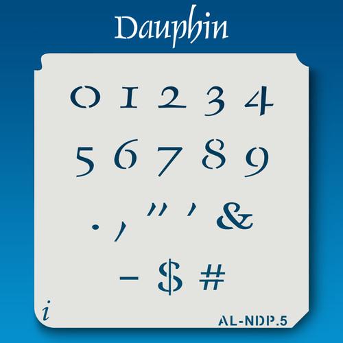 AL-NDP Dauphin - Numbers  Stencil